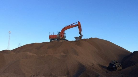 Topsoil from MCM