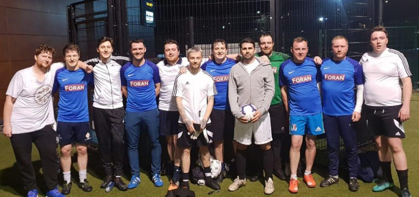 Friendly goalfest with Foran Construction