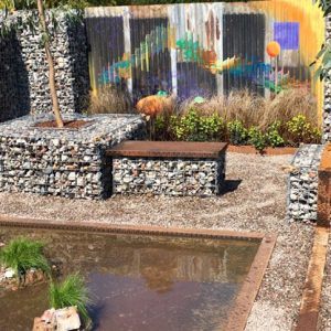 Award-winning garden demands the best in recycled materials