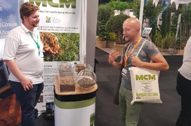 Soils and aggregates at The Landscape Show 2019: MCM on Stand E59