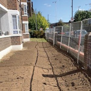 Bioretention soils for SuDs Layer in residential development