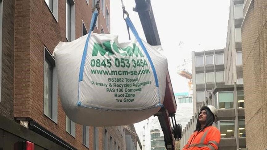 MCM shingle bag