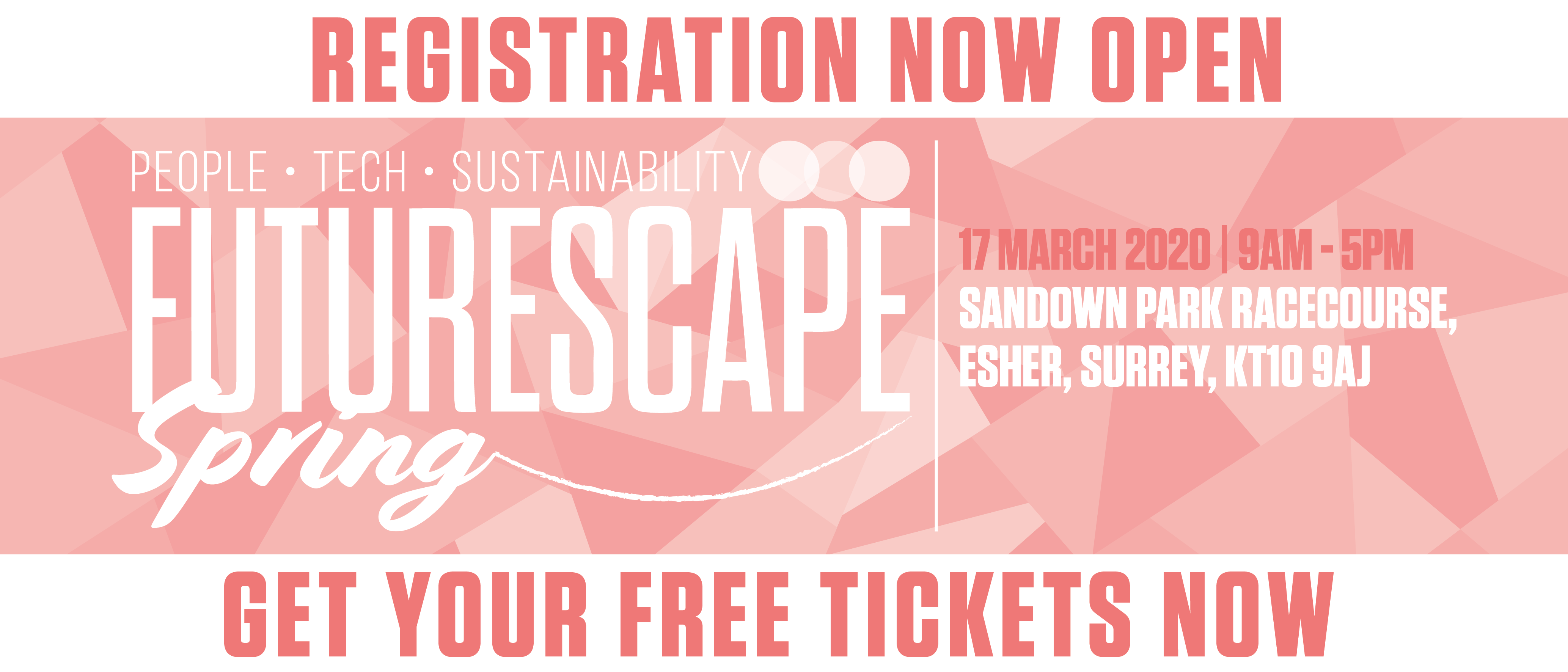FutureScape Spring 2020 register now