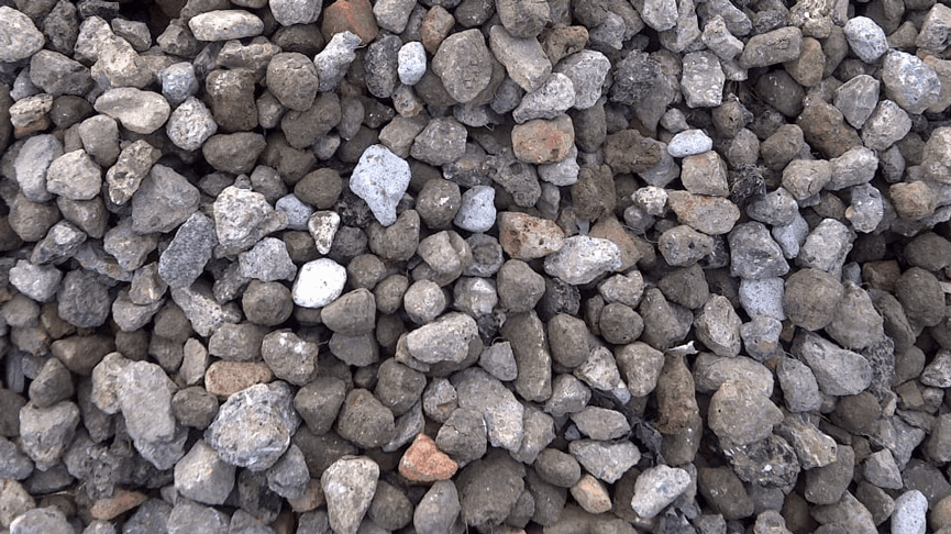 4-40mm crushed concrete from recycled materials