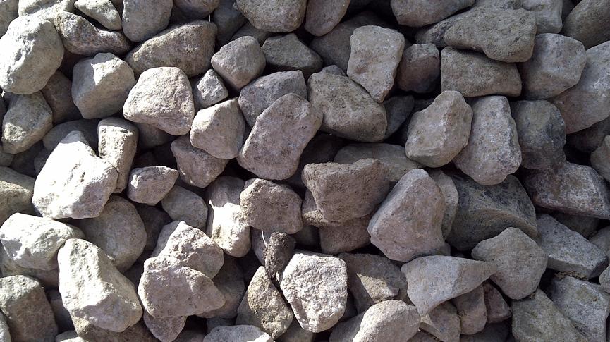 Oversized Crushed Concrete