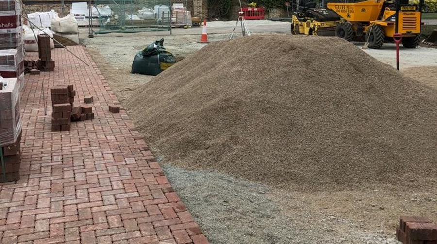 2/6mm Permeable Aggregate from MCM load