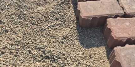 2/6mm Permeable Aggregate from MCM bedding layer